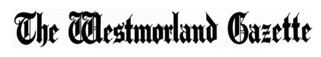 thewestmorlandgazette.co.uk Logo