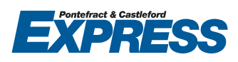 pontefractandcastlefordexpress.co.uk Logo